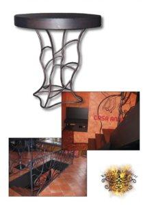 Umělecké kovářství Petr Slezák – Stoly