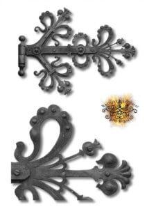 Umělecké kovářství Petr Slezák – Kliky, panty