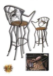 Umělecké kovářství Petr Slezák – Židle