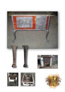 Umělecké kovářství Petr Slezák – Restaurování