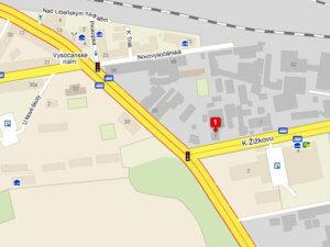 Kovářství Petr Slezák - Mapa