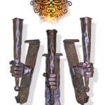 Umělecké kovářství Petr Slezák – Lampy